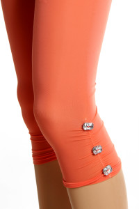 legging court orange