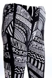legging ethnique motif africain