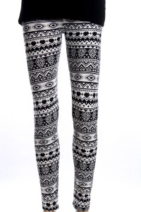 legging ethnique azteque